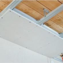 Особенности изготовления потолка из гипсокартона собственными руками